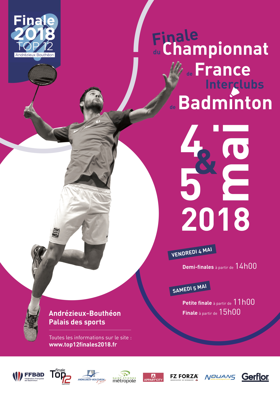 Finale Championnat de France Interclubs de Badminton