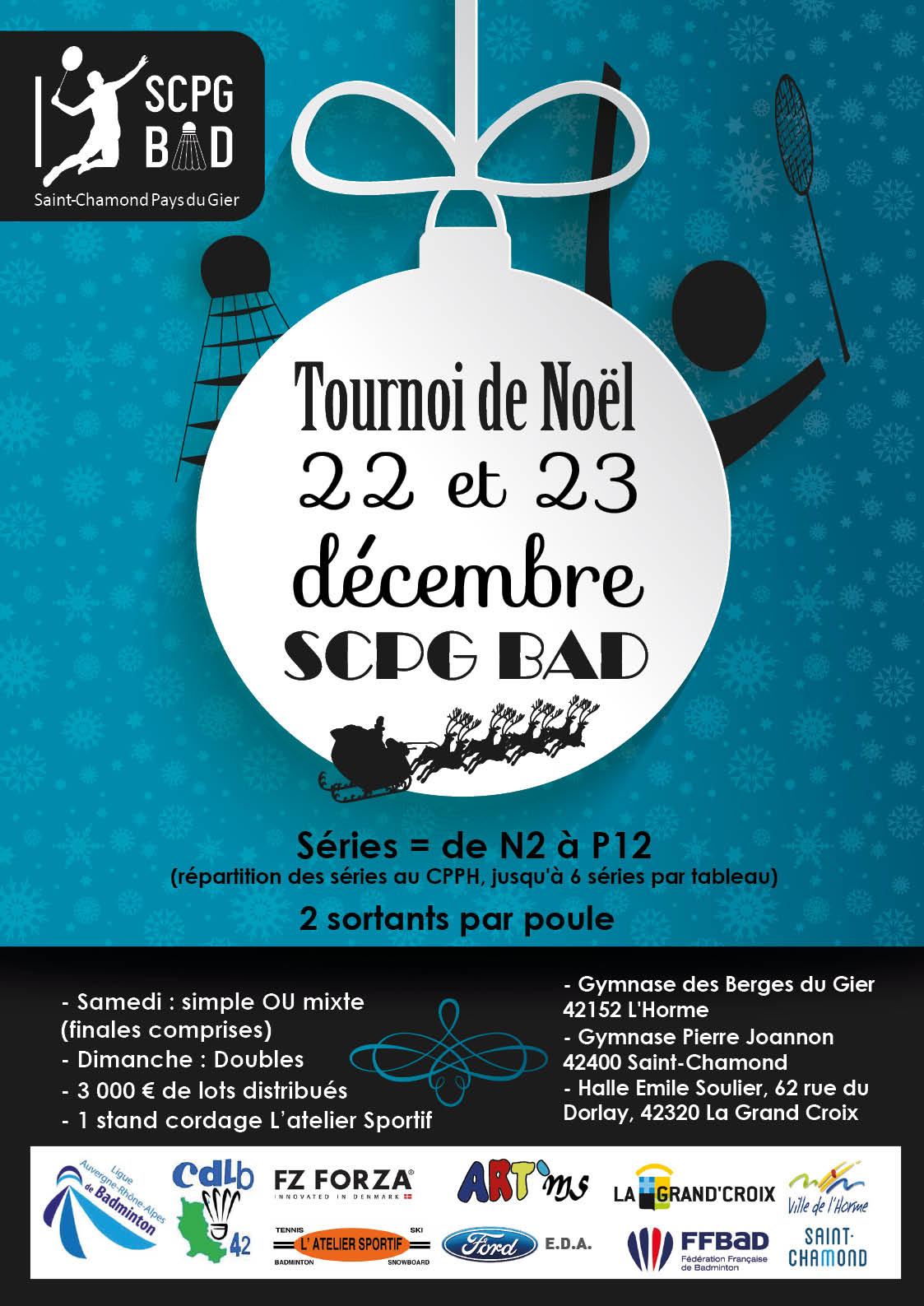 Tournoi Noel de Saint-Chamond