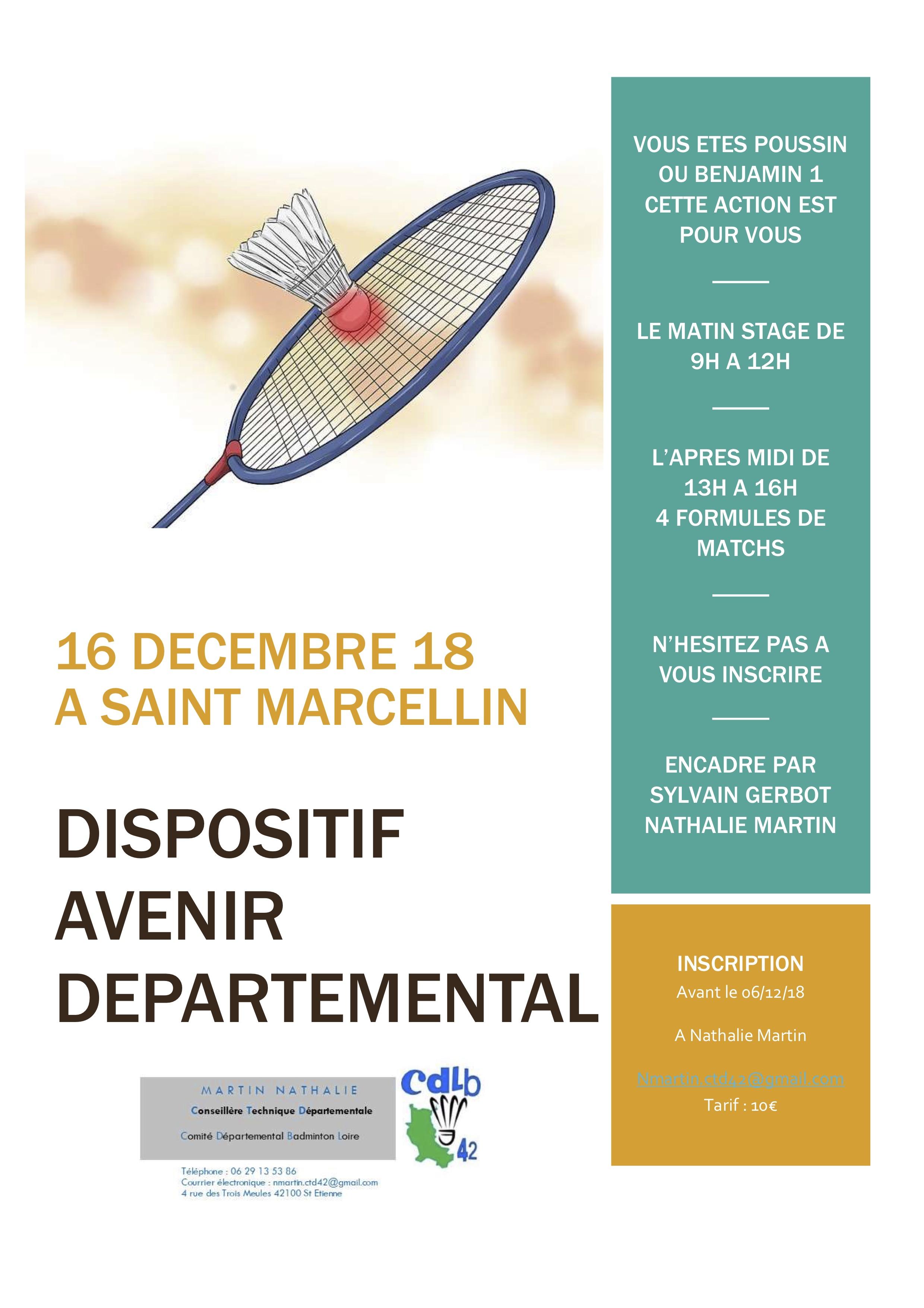 Stage Décembre (Poussin – Benjamin 1)